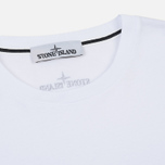 Мужской лонгслив Stone Island Industrial 4 White фото- 1