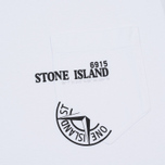 Мужской лонгслив Stone Island Industrial 4 White фото- 2