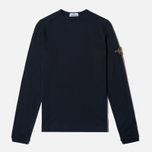 Мужской лонгслив Stone Island Long Sleeve Black фото- 0