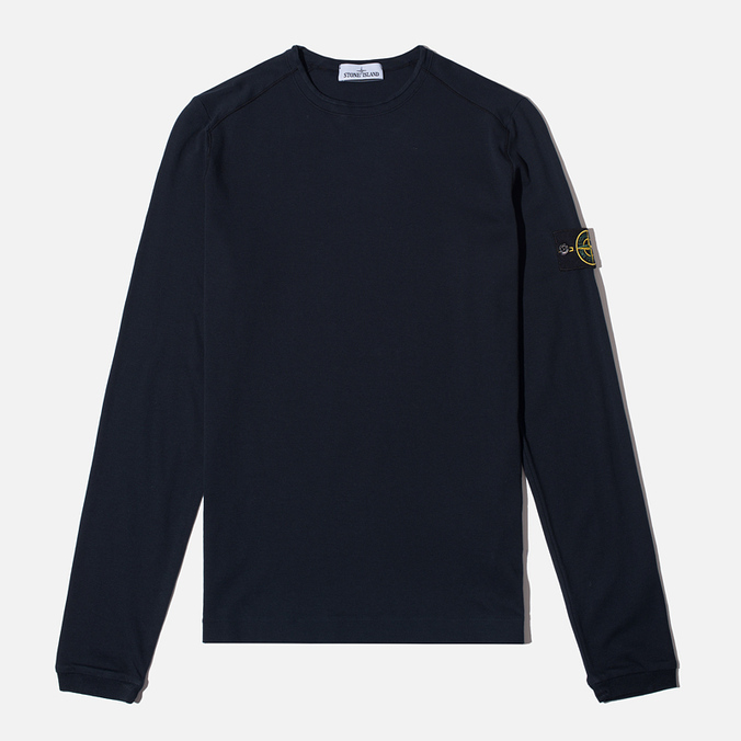 Мужской лонгслив Stone Island Long Sleeve Black