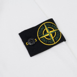 Мужской лонгслив Stone Island Mako Cotton Interlock White фото- 3