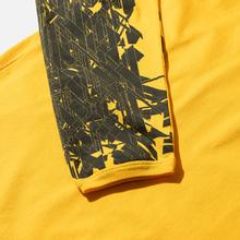 Мужской лонгслив Stone Island Shadow Project 7219 CXADO Print Yellow фото- 2