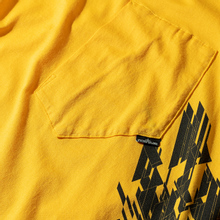Мужской лонгслив Stone Island Shadow Project 7219 CXADO Print Yellow фото- 3