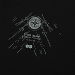 Мужской лонгслив Stone Island Shadow Project Catch Pocket Digital Prints Black фото- 2