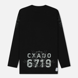 Мужской лонгслив Stone Island Shadow Project Catch Pocket Digital Prints Black фото- 6