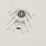 Мужской лонгслив Stone Island Shadow Project Catch Pocket Digital Prints Off White фото- 2