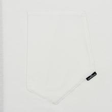 Мужской лонгслив Stone Island Shadow Project Mako Cotton Jersey Garment Dyed Pocket Natural White фото- 2