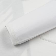 Мужской лонгслив Stone Island Shadow Project Mako Cotton Jersey Garment Dyed Pocket Natural White фото- 3
