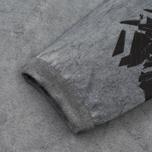 Мужской лонгслив Stone Island Shadow Project Marbled Effect Navy фото- 3