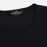 Мужской лонгслив Stone Island Shadow Project Printed Catch Pocket Garment Dyed Black фото- 1