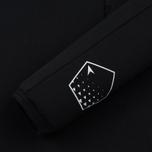 Мужской лонгслив Stone Island Shadow Project Printed Catch Pocket Garment Dyed Black фото- 3