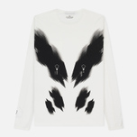 Мужской лонгслив Stone Island Shadow Project Printed Catch Pocket Garment Dyed Natural White фото- 4