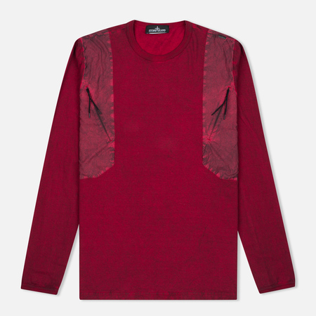 Stone Island Shadow Project Tactical Men's Longsleeve Maroon