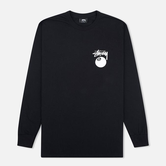 Мужской лонгслив Stussy 8 Ball Black