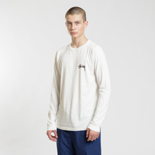 Мужской лонгслив Stussy 8 Ball Stack Pigment Dyed Natural фото- 1
