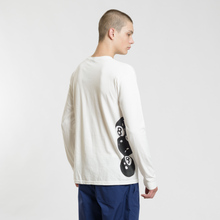 Мужской лонгслив Stussy 8 Ball Stack Pigment Dyed Natural фото- 3