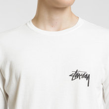 Мужской лонгслив Stussy 8 Ball Stack Pigment Dyed Natural фото- 2