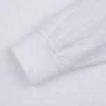 Мужской лонгслив Stussy Basic LS White фото- 3