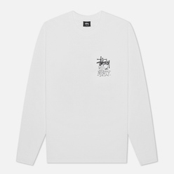 Мужской лонгслив Stussy Big And Meaty White