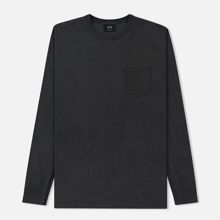 Мужской лонгслив Stussy Camo Stock Pocket Black