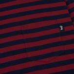 Мужской лонгслив Stussy Classic Stripe Jersey Navy фото- 2