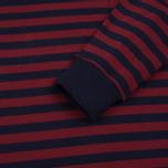 Мужской лонгслив Stussy Classic Stripe Jersey Navy фото- 3