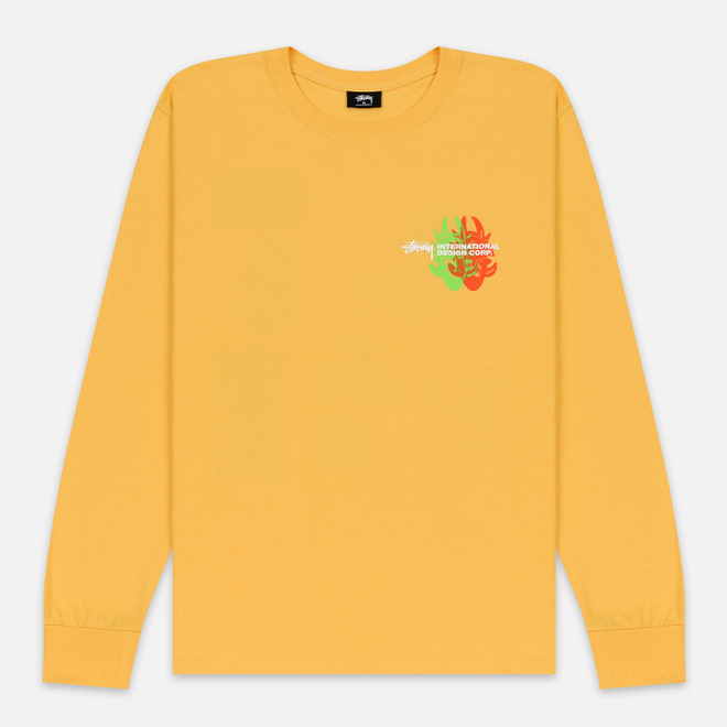 Мужской лонгслив Stussy Great Future Orange