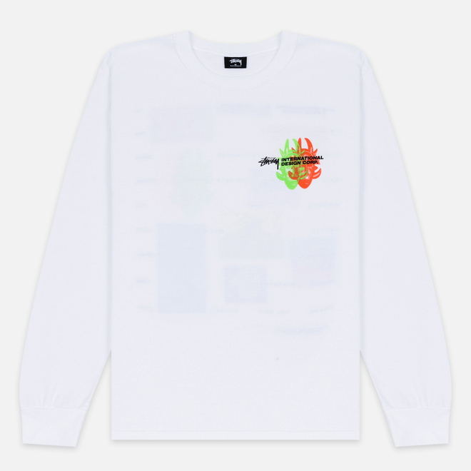 Мужской лонгслив Stussy Great Future White