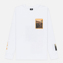 Мужской лонгслив Stussy Great Outdoors White фото- 0