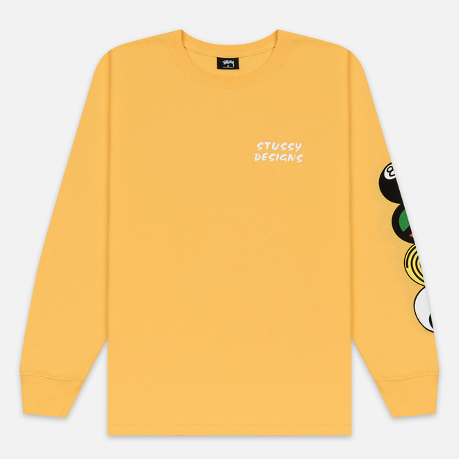 Мужской лонгслив Stussy Harmony LS Orange