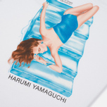 Мужской лонгслив Stussy Harumi Yamaguchi Raft White фото- 5