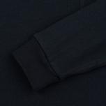 Мужской лонгслив Stussy O'Dyed Double LS Black фото- 3