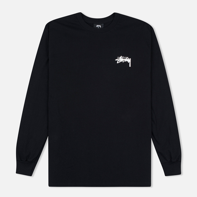 Мужской лонгслив Stussy Original Stock Black