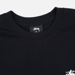 Мужской лонгслив Stussy Original Stock Black фото- 1