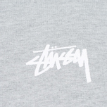 Мужской лонгслив Stussy Original Stock Grey Heather фото- 2