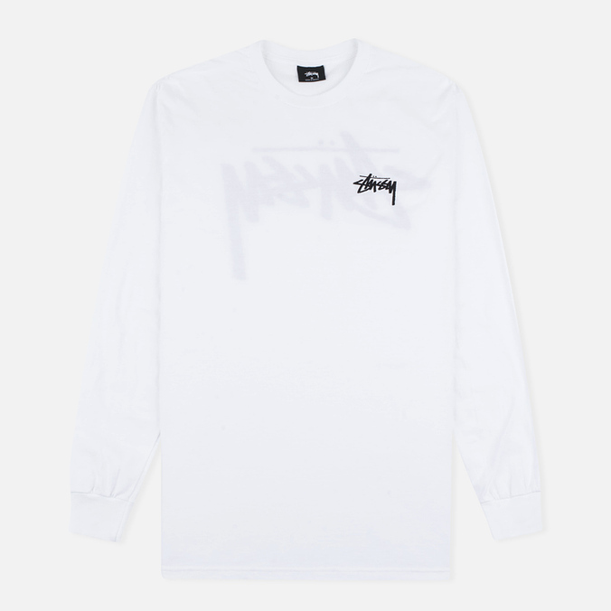 Мужской лонгслив Stussy Original Stock White