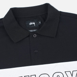 Мужской лонгслив Stussy Pieced Black фото- 1