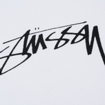Мужской лонгслив Stussy Smooth Stock Printed Logo White фото- 2