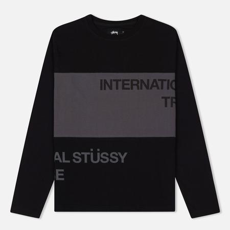 Мужской лонгслив Stussy Split Panel Jersey Black