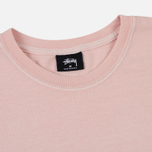 Мужской лонгслив Stussy Stock Pigment Dyed Blush фото- 1