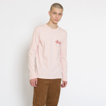 Мужской лонгслив Stussy Stock Pigment Dyed Blush фото- 4