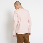 Мужской лонгслив Stussy Stock Pigment Dyed Blush фото- 5