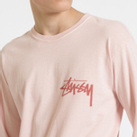 Мужской лонгслив Stussy Stock Pigment Dyed Blush фото- 7