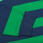 Мужской лонгслив Stussy Stripe Team Rugby Green фото- 3