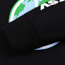 Мужской лонгслив Stussy World Peace Black фото- 3