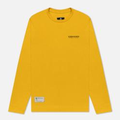 Мужской лонгслив Submariner Main Logo Print Mustard