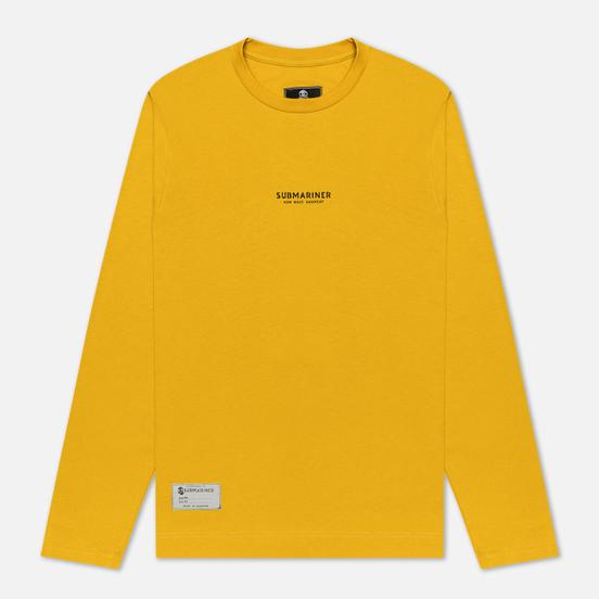 Мужской лонгслив Submariner New Wave Print Mustard