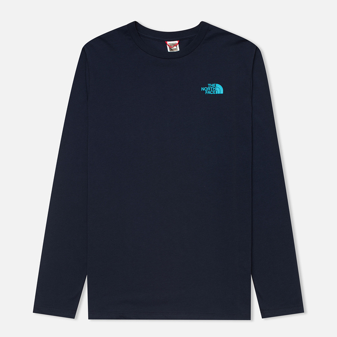 Мужской лонгслив The North Face Easy Cosmic Blue