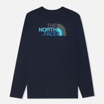 Мужской лонгслив The North Face Easy Cosmic Blue фото- 1