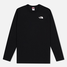 Мужской лонгслив The North Face Easy LS Black/White фото- 0